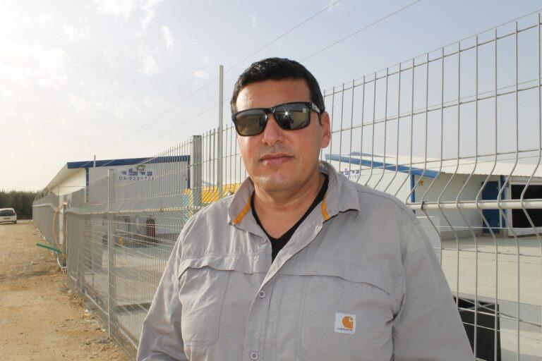 צוריאל חנוני, מנהל מדגרת רביבים (צילום: דני בלר)