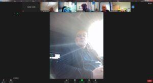 מדבר מהשטח: מולי לויט בשיחה עם משתתפי יום העיון (צילום מסך מהזום)